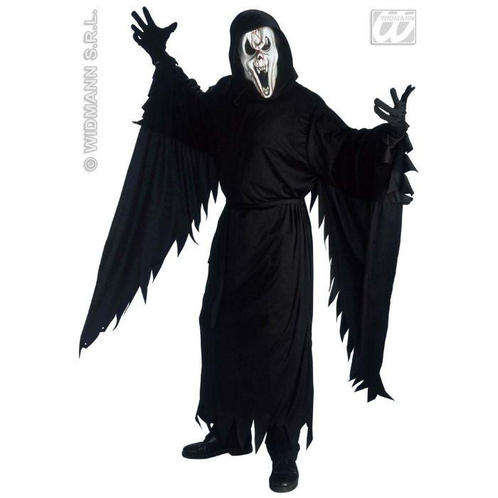 Halloween con cappuccio MASCHERA ZOMBIE MUMMIA pieno MASCHERA ZOMBIE spirito maschera HORROR MOSTRO