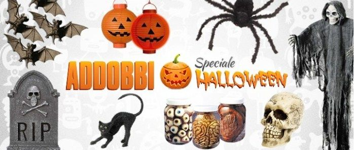 Decorazioni halloween addobbi decori gadget zucche di for Decorazioni torte halloween fai da te
