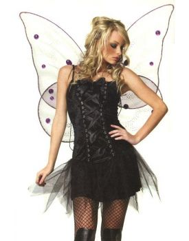 Vestito Ninfa Dark Gotica Halloween