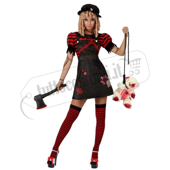 Costume Bambola Zombie. Quanto costa online?