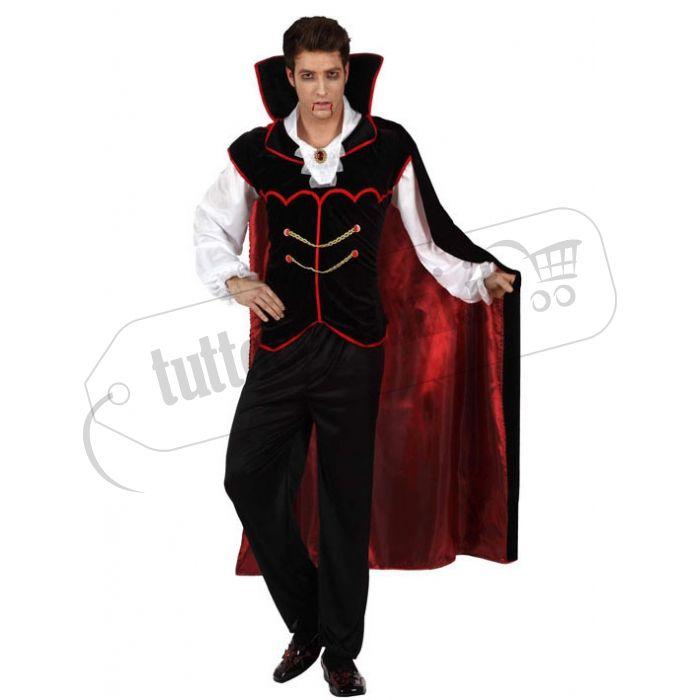 Costume da Vampiro con gilet nero. Quanto costa online?