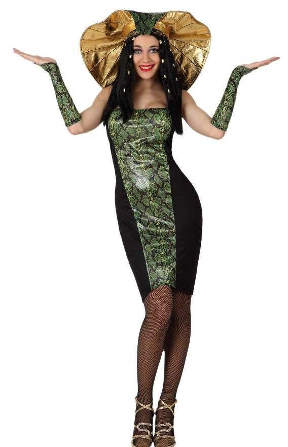 Costume da donna serpente.