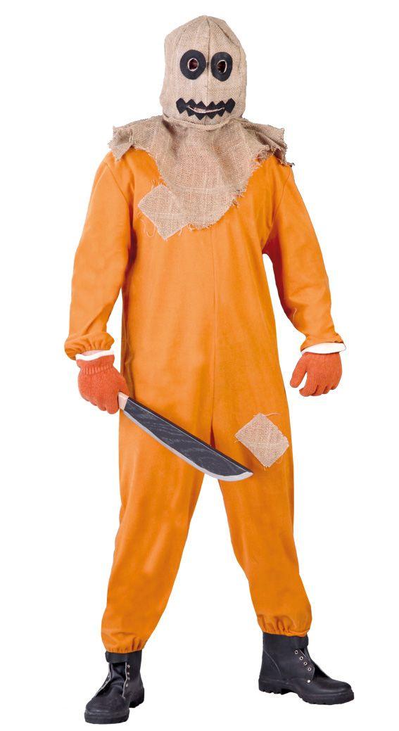 Costume zucca diabolica.