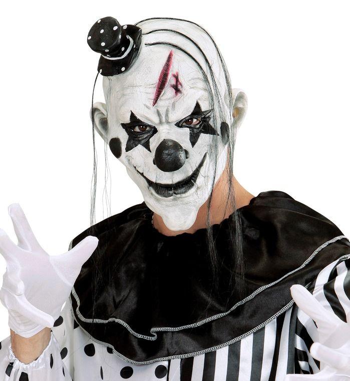 Maschere Halloween Horror Paurose Fantasiose Colorate Tutto