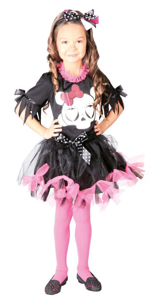 costume-teschietto-rosa-bambina