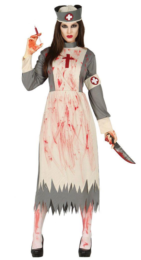 Costume da infermiera Zombie sanguinaria. Scopri il prezzo.