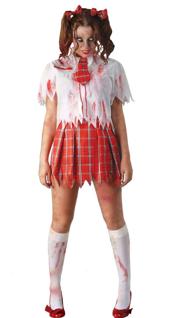 Costume da studentessa zombie. Quanto costa?